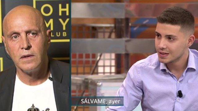 Kiko Matamoros contra el hijo de su novia Cristina