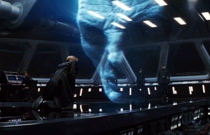 Star Wars: Descubren a Darth Vader en un plano de Snoke en Los últimos Jedi