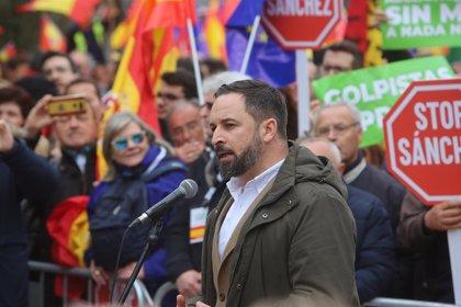 """Abascal (Vox) demana detenir la Presidència """"de la Generalitat per sufocar el cop amb totes les seves conseqüències"""""""