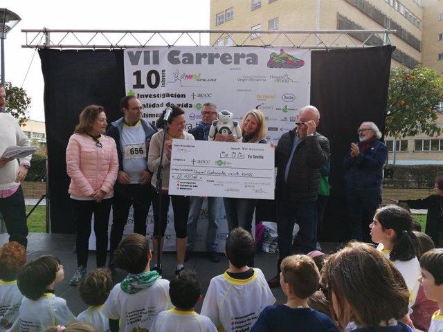 Premiados de la VII carrera 'En Marcha por la Salud'