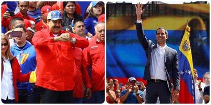 El 57 por ciento de los venezolanos ven a Maduro presidente legítimo, frente al 32 por ciento de Guaidó