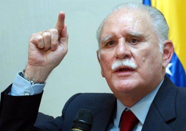 El exvicepresidente venezolano José Vicente Rangel