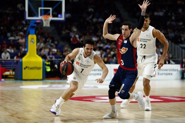 Basket: Liga Endesa - Real Madrid v Baskonia