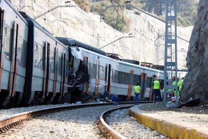 Renfe treballarà aquest dilluns en la retirada de l'última part del tren accidentat a Castellgalí