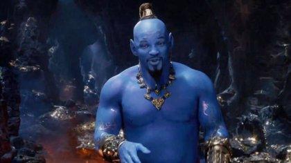 Aladdin: Will Smith se tiñe de azul en el nuevo tráiler