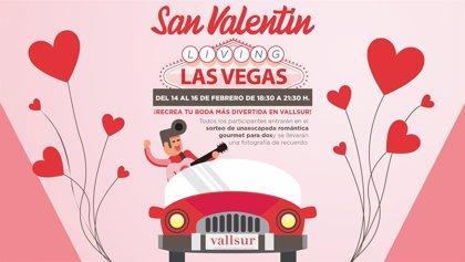 Di 'sí quiero' y cásate al estilo Las Vegas en Vallsur