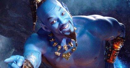 """Internet se ríe del Genio azul de Will Smith en Aladdin: """"¡Es Papá Pitufo!"""""""