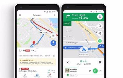 Google Maps desarrolla un modo de realidad aumentada que ya prueba en Estados Unidos