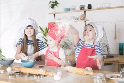 Escuelas de cocina para niños: adaptadas a su edad