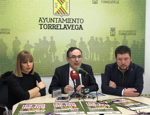 El alcalde, José Manuel Cruz Viadero, presenta la Feria de Stock