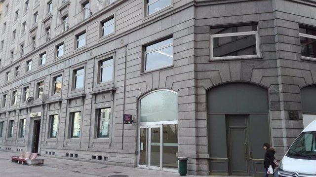 Sede de Liberbank en Oviedo, edificio Liberbank