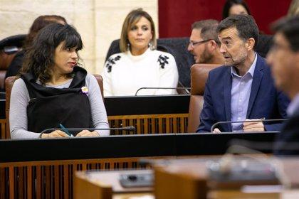 Teresa Rodríguez comunica al Parlamento andaluz su renuncia a cobrar complementos salariales durante la baja maternal