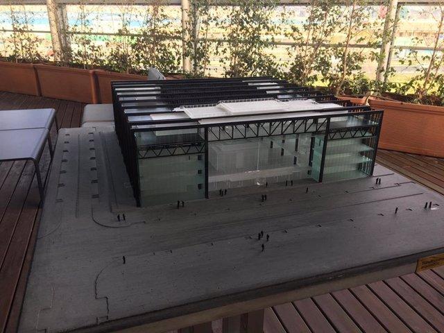 Maqueta del nou centre tecnològic del CZFB que s'inaugurarà el 2020