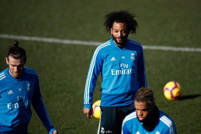 Soccer: La Liga - Real Madrid training day