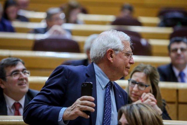 El ministre Josep Borrell en una foto d'arxiu