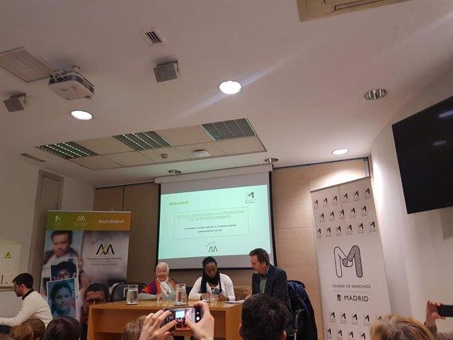 Dos activistas colombianas, las primeras acogidas temporalmente en Madrid