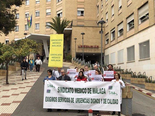 Huelga de médicos en Urgencias