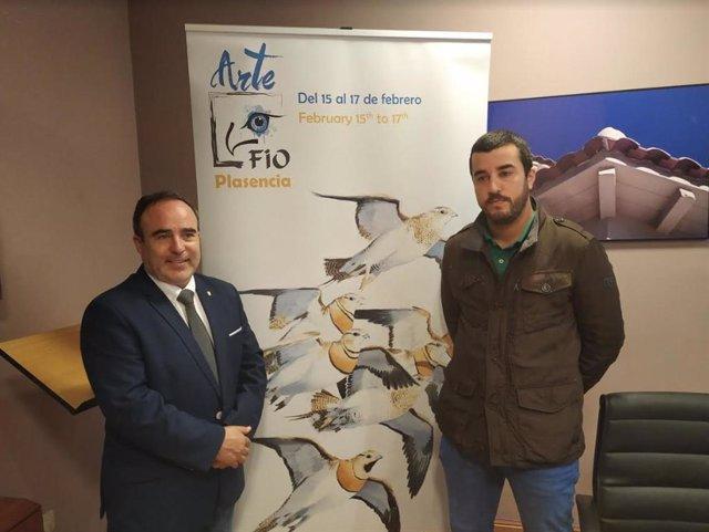 Francisco Martín y Borja García, en la presentación de FIO