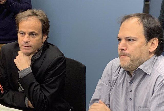 Jaume Asens y Ignasi Calbó