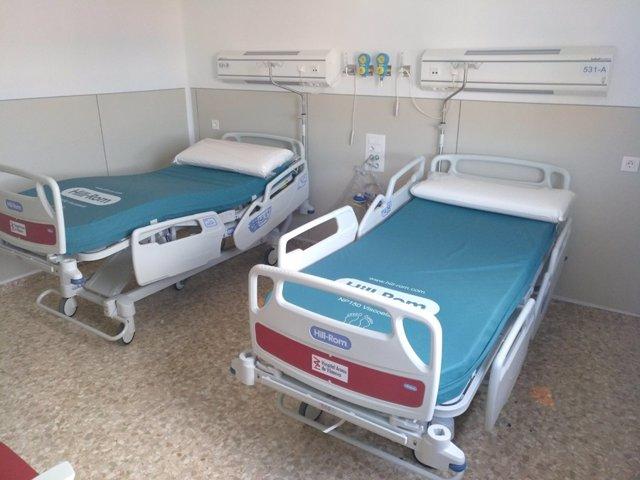Camas nuevas en el Hospital Arnau de Vilanova de València