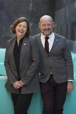 Maribel López y Carlos Urroz, codirectores de ARCOmadrid 2019