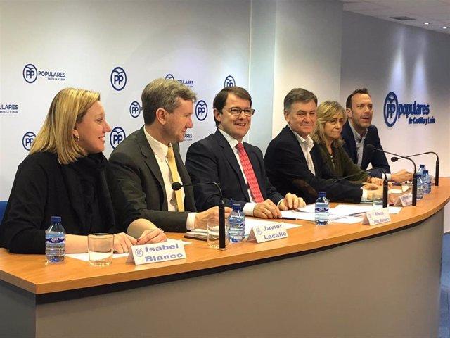 Comité Ejecutivo PP, Alfonso Fernández Mañueco