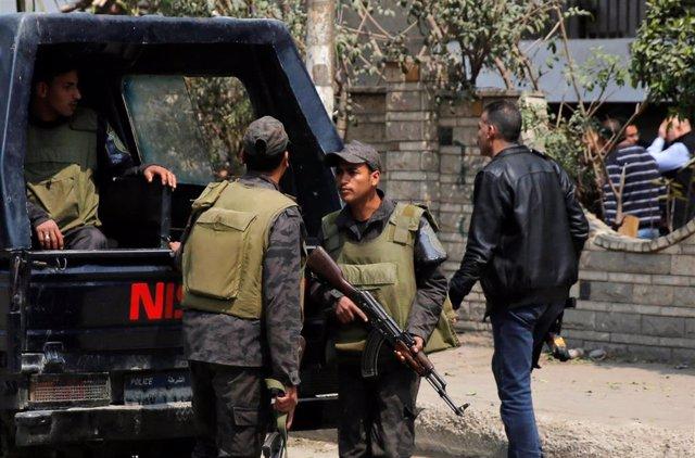 Policía en Egipto