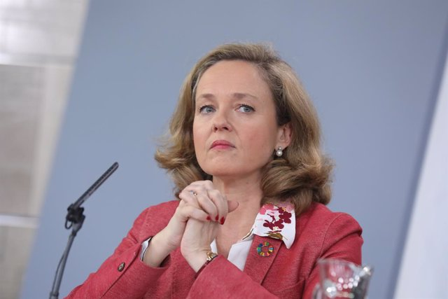 La ministra d'Economia i Empresa, Nadia Calviño
