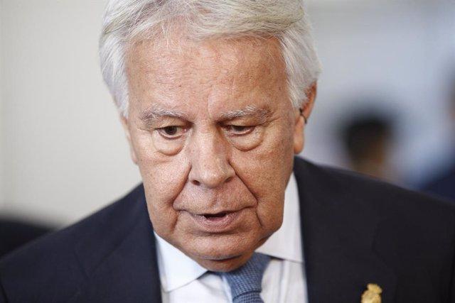 L'expresident del Govern espanyol, Felipe González