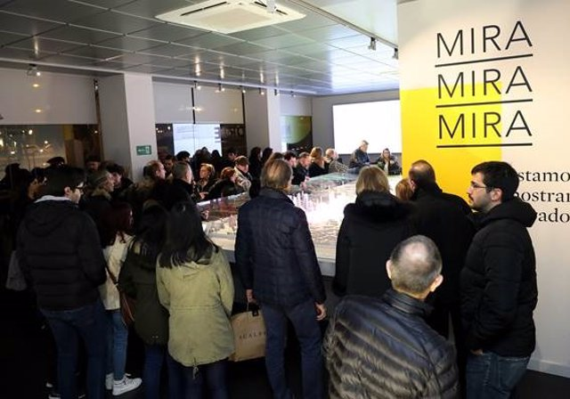 Cerca de 20.000 personas han visitado ya la exposición de Madrid Nuevo Norte