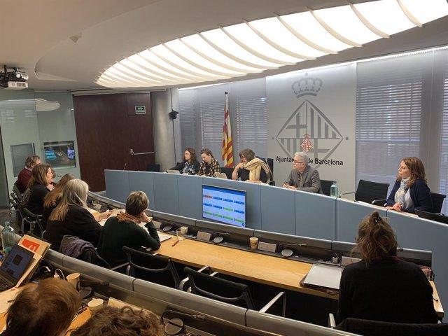 Comissió de Drets Socials de Barcelona de febrer