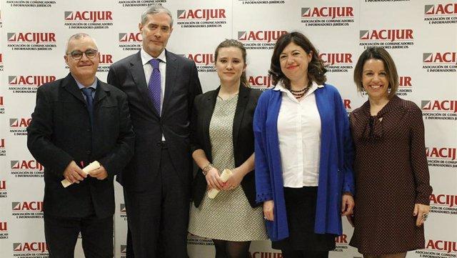 Entrega de la VIII Edición de los Premios Puñetas de ACIJUR en la sede de la Aso