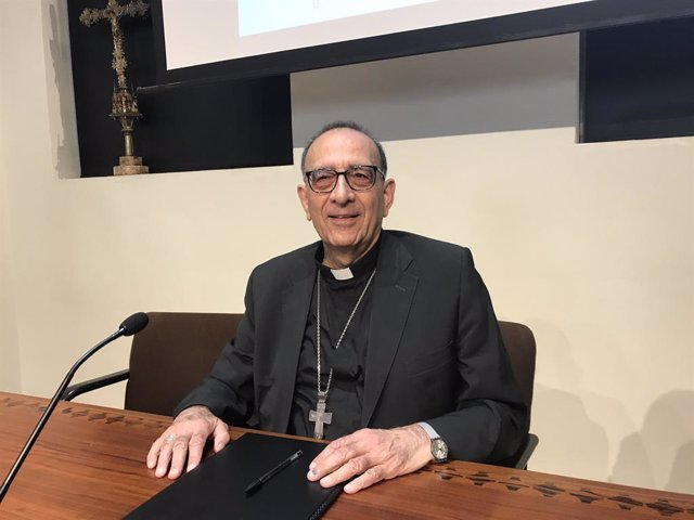 El cardenal arquebisbe de Barcelona, Juan José Omella
