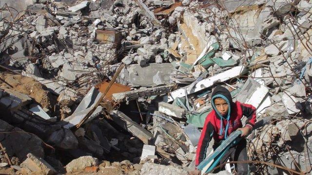 Fotograma 3 del cortometraje 'Gaza'