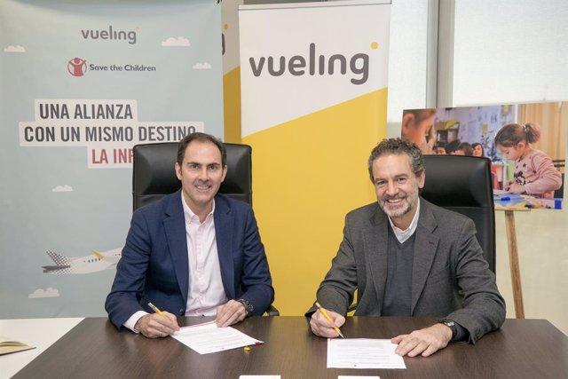 Nota de premsa: Els clients de Vueling donen més de 230.00 euros a Save the Chil