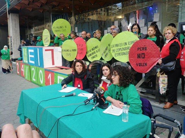 Roda de premsa del Grup Impulsor de la Llei catalana de pobresa energètica