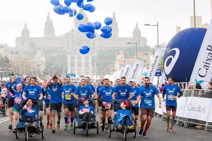 Empresas.- Zurich visibilizará la ataxia telangiectasia en cuatro maratones hasta 2020