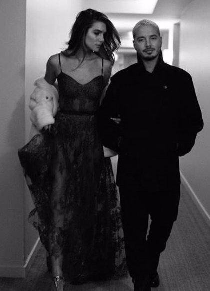 J Balvin confirma su relación con la modelo argentina Valentina Ferrer