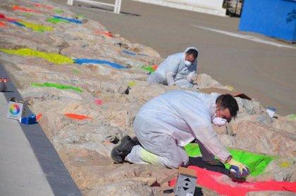 Fuengirola embellece el espigón de la 'T' para consolidarlo como punto de atracción turística