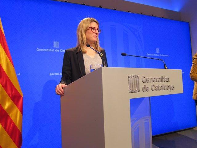 La consellera de Presidència, Elsa Artadi