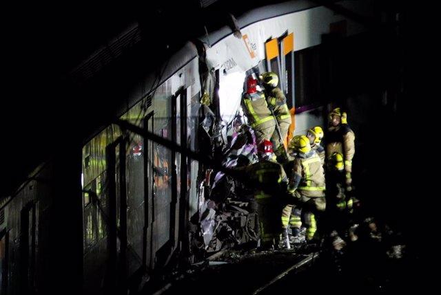 Un accidente de tren cerca de Manresa deja un muerto