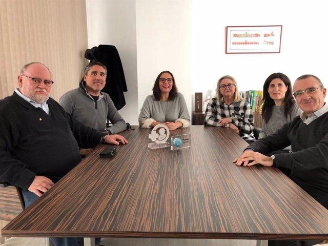 Reunión Podemos y Colegio de Médicos de Baleares