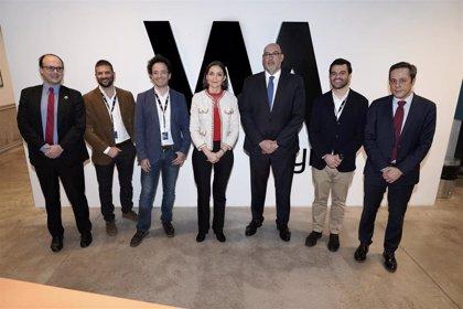 Reyes Maroto visita las instalaciones de Wayra, el 'hub' de innovación de Telefónica