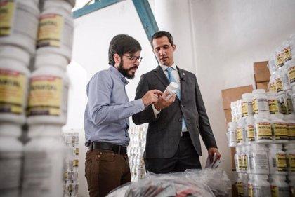 Guaidó entrega 85.000 suplementos nutricionales para niños y embarazadas de Venezuela