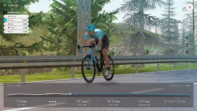 buscar auténtico Tienda en stock Telefónica lanza una competición internacional de ciclismo virtual