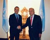 """Foto: AMP.- Venezuela.- Arreaza asegura que Guterres se ha mostrado """"dispuesto a ayudar"""" a Venezuela"""