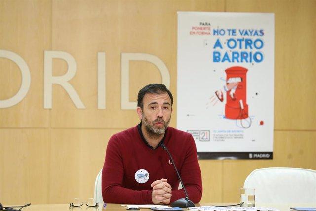 Nacho Murgui, delegado de Coordinación Territorial y Cooperación Público-Social