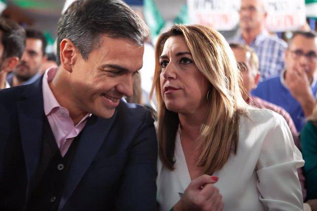 Pedro Sánchez y Susana Díaz, en una foto de archivo