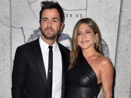 Jennifer Aniston recibe una felicitación muy tierna de la mano de su ex, Justin Theroux