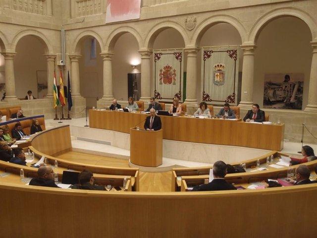 Las preguntas al presidente han abierto el pleno